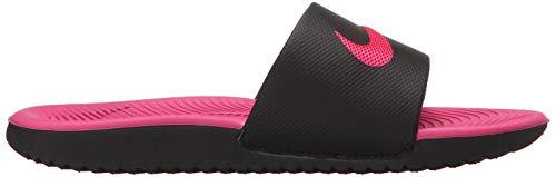 Meerkleurig felroze Beach dames Pool Nike schoenen zwart Slide voor ps gs 001 Kawa wqqYPt6z