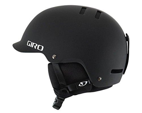 Giro Surface-S Snow Helmet (Matte Black, Large) (Giro Helmet Ski)