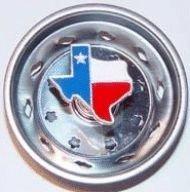 Enamel Kitchen Strainer Texas Flag ()