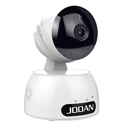 HD1080P Wireless Security Camera, JOOAN Webcam for Home Indoor Surveillance with 2 Way Audio/Night Vision/Motion Detection/Rotation Remote View and Control-Powered by Adapter