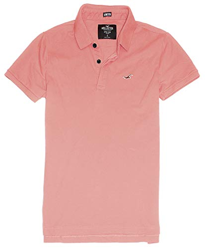 Hollister Men's Flex Pique Stretch Polo Shirt HOM-3 (X-Small, 0439-600) from Hollister Co..