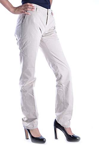 Mcbi15240 Beige Mujer Aspesi Pantalón Algodon n1qaqvUA