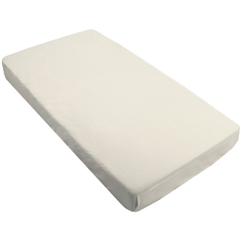 Kushies Percale Fitted Crib Sheet, White S430WHT