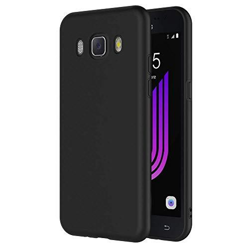 SADGATIH Back Cover compitable for Samsung Galaxy J76 New 2016 Edition Black