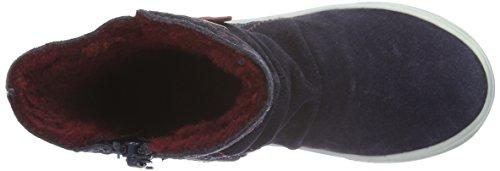 s.Oliver Mädchen 35406 Kurzschaft Stiefel Blau (Navy Comb. 891)