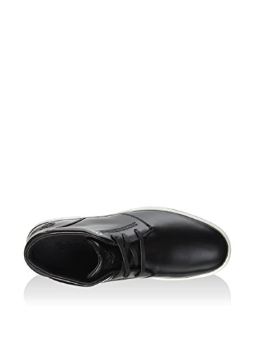 Timberland Leather Chukka, Botines para Hombre, Negro, 45 EU