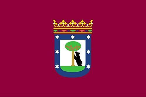 Durabol Bandera de Madrid Ciudad 150 x 90 cm: Amazon.es: Deportes y aire libre