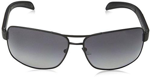 Hombre 54IS para Sol Negro 0PS Rossa Rubber Black Linea Matte Gafas de Prada Rqw68Zq