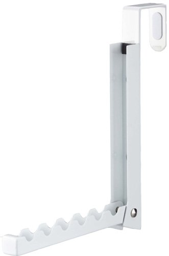 YAMAZAKI home Smart Folding Over The Door Hook White  sc 1 st  Amazon.com & Amazon.com: YAMAZAKI home Smart Folding Over The Door Hook White ...