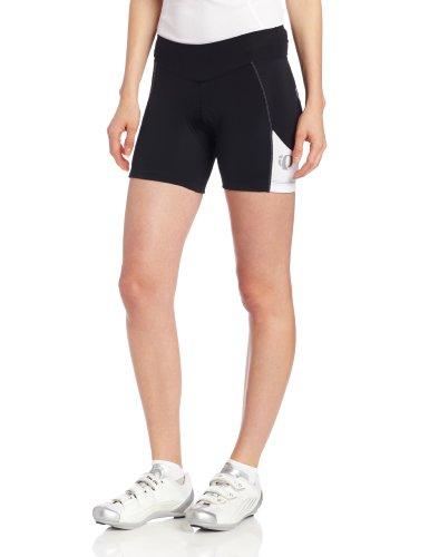 Pearl Izumi Women's Sugar Shorts, Black/White, X-Large