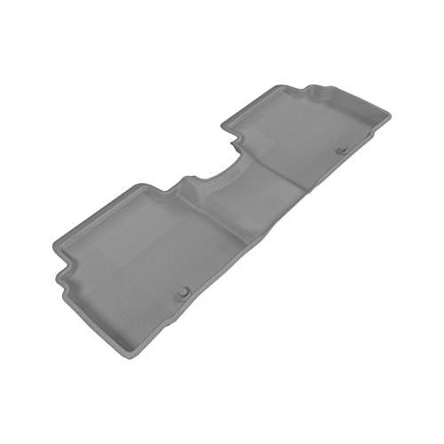 3D MAXpider Second Row Custom Fit Floor Mat for Select Kia Sportage Models - Kagu Rubber (Gray) supplier