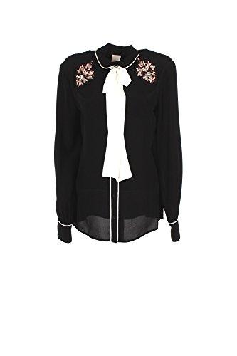 Shirt Femme Pinko Séville 44 Automne Hiver 2017/18 Noir
