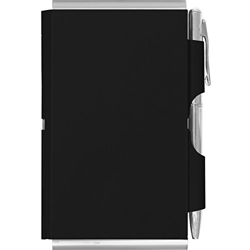 Wellspring Double Sided Flip Note, Black (2354) (Wellspring Flip Note Pen Refills)