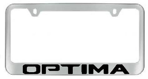 KIA Optima Chrome License Plate Frame with 2 free (Kia Frame)