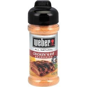 Weber, Chicken 'N Rib Seasoning, 5.75oz Jar (Pack of 4)