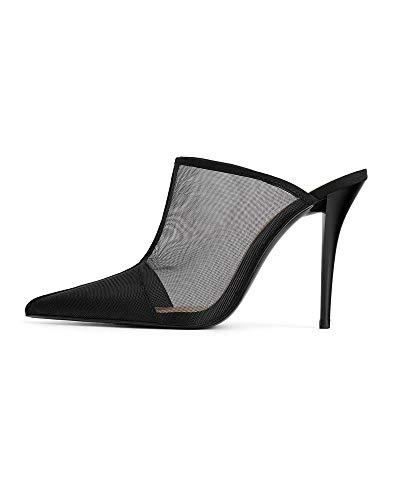 001 E Rete Donna Mules Tacco Con Zara 0izfuz 3222 kX8wnO0P