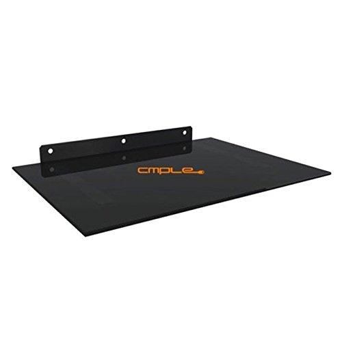 Cmple Black DVD/AV Component Wall Mount Bracket Shelf 17....