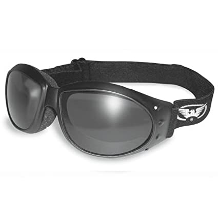 f743012895 Amazon.com  ELIMINATOR GOGGLES MOTORCYCLE PADDED EYEWEAR SMOKED TINT LENSES  These Are Specially Made to Keep Dust And Wind Out Of Your Eyes  Automotive