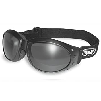 goggles eyewear  Amazon.com: ELIMINATOR GOGGLES MOTORCYCLE PADDED EYEWEAR SMOKED ...