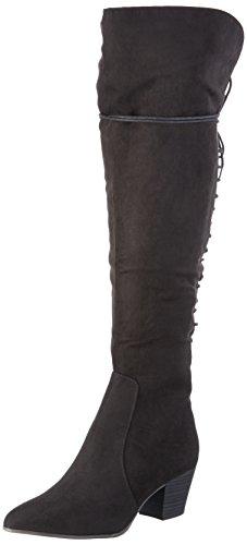Tamaris Long Black black Schwarz Women's 001 Boots 25512 HrqwfEH