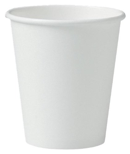 SOLO 376W-2050 Single-Sided Poly Paper Hot Cup, 6 oz. Capaci