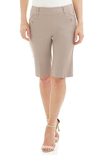 Rekucci Womens Comfort Bermuda Pockets product image