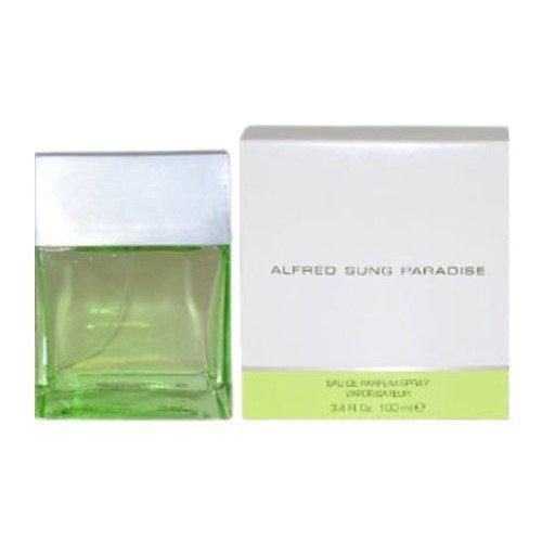 Price comparison product image Alfred Sung Paradise for women 3.4 oz Eau De Parfum EDP Spray