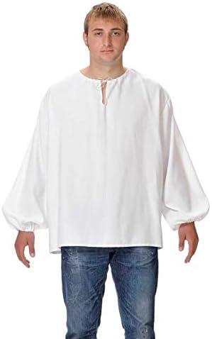 DISBACANAL Camisas Medievales de mesonero: Amazon.es: Juguetes y juegos