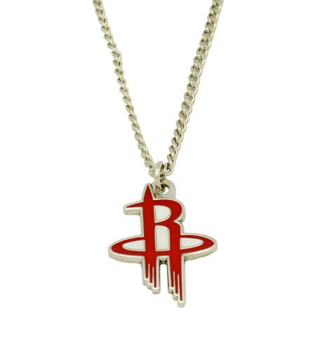 NBA Houston Rockets Team Logo Necklace (Houston Rockets Earring)