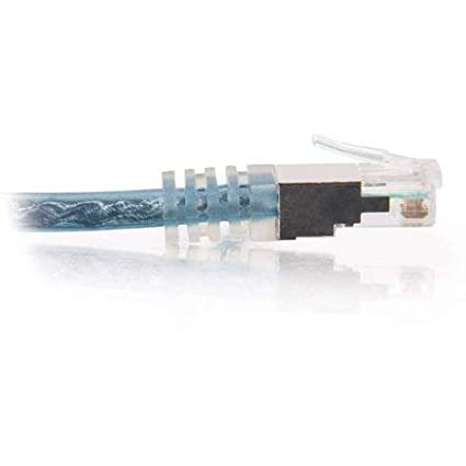 M molded transparent blue Phone cable snagless - 15 ft M RJ-11 to RJ-11 double shielded C2G High-Speed Internet Modem Cable