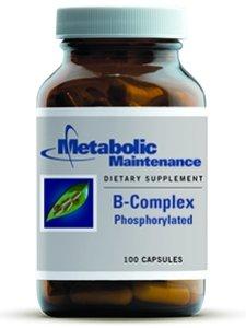 Метаболический обслуживание B-комплекс Фосфорилированный 100 Vcaps