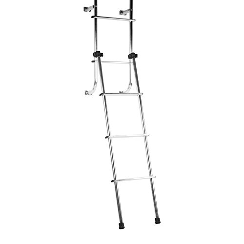 Stromberg Carlson LA148 Universal Outdoor Ladder for RV ()
