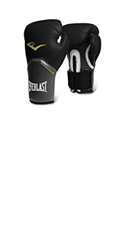 Everlast Pro Style Elite Training Boxing Gloves (Black , 12oz)