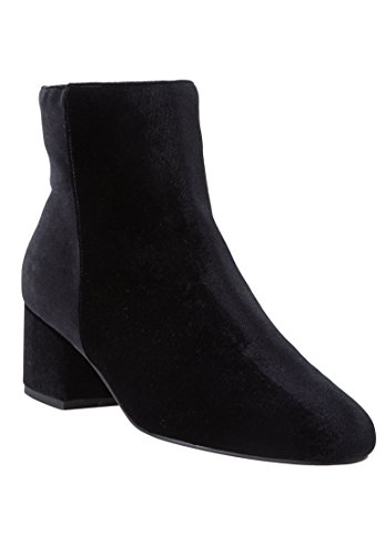 Comfortview Womens Wide Sidney Booties Black