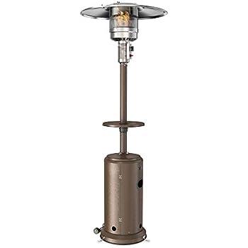 Amazon Com Hiland Hlds01 Wcgt Propane Patio Heater W