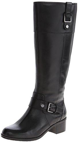 Bandolino Women's Cranne Wide Calf Leather Riding Boot - ...