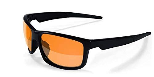 3ceb86920a 2017 Maxx Sunglasses TR90 Maxx Retro 2.0 HD Black Amber Lens