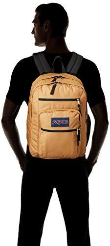 JanSport Big Student Backpack - 15-inch Laptop School Pack, Carpenter Brown