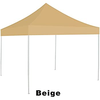Ez pop Up instant Canopy 10u0027X10u0027 Replacement Top gazebo EZ canopy Cover patio  sc 1 st  Amazon.com & Amazon.com : Ozark Trail 10u0027 x 10u0027 Gazebo Canopy Top - Blue Color ...