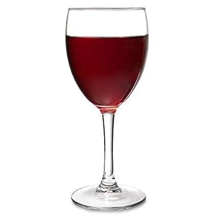 Arcoroc Princesa - Copa para vino 230ml, sin la marca de llenado, 6 Copas