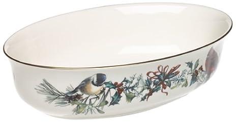Lenox Winter Greetings Open Vegetable Bowl 185518512