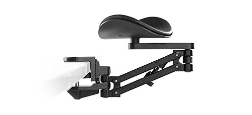 ErgoRest 330-023 Articulating Arm Support - Black - Standard Arm (14.25''), Standard Pad (5.125'') by ErgoRest