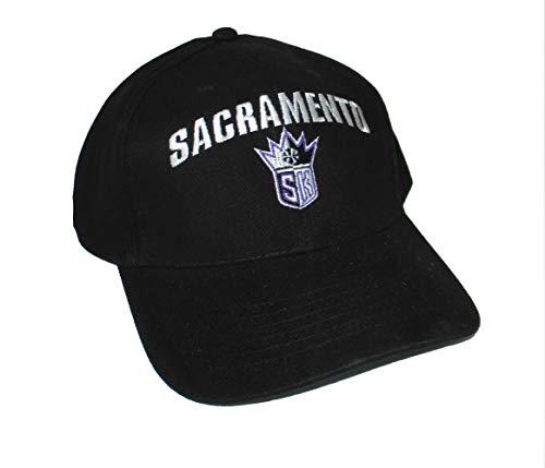 (Genuine Merchandise Sacramento Kings Adjustable Hat Cap - Black)