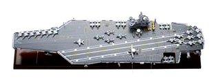 マホガニー製完成品 1/430 原子力空母ジェラルド・R・フォード (CVN-78) (SCMCS034)