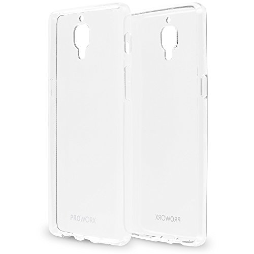 Ultra Clear Soft Silicone Gel TPU Shockproof Case For OnePlus 3 - 6