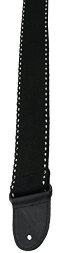 Perris Leathers BCT-1646 2-Inch Premium Cotton Guitar Straps with Deluxe Garment Leather - Cotton Perris Leather