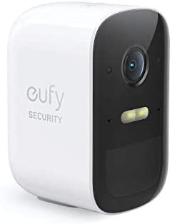 eufy Security eufyCam 2C Wireless Home Security Add-on Camera, Requires HomeBase 2, 180-Day Battery Life, HomePackage Compatibility, 1080p HD, No Monthly Fee