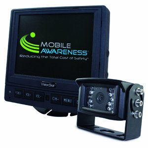 RV Motorhome Trailer VisionStat Back-Up Camera System, 5.6 Inch LCD Monitor With Single Camera -