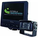 RV Motorhome Trailer VisionStat Back-Up Camera System, 5.6 Inch LCD Monitor With Single Camera