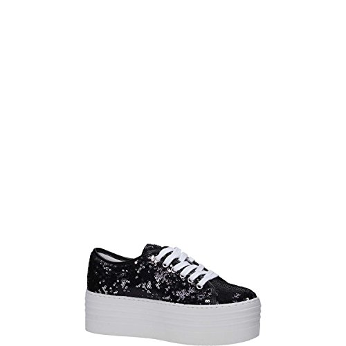 Cult art cle102442 Iggy low 836 paillett nero argento